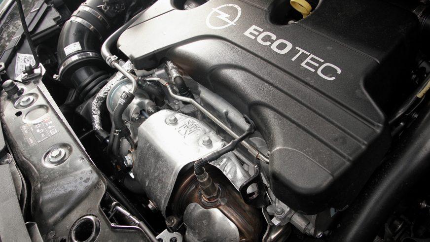 Opel Corsa (Е) - 2015 - двигатель