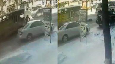В Петропавловске водитель автобуса сбил «бессмертного» мужчину