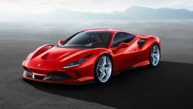 Ferrari F8 Tributo вместо 488 GTB
