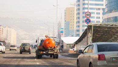Снижение скорости на Аль-Фараби признали законным
