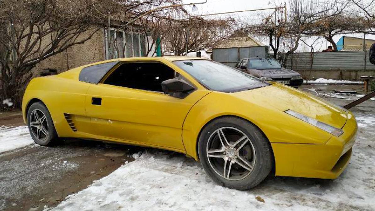 Девять лет потратил казахстанец на сборку копии Lamborghini