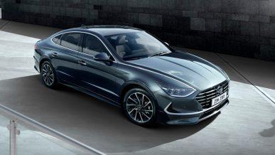 Hyundai представила восьмое поколение Sonata