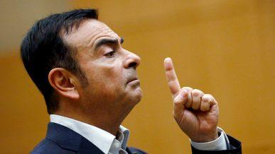 Карлоса Гона отпустили под залог за миллиард иен