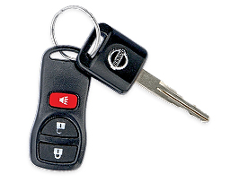 Nissan Murano - 2004 - ключ