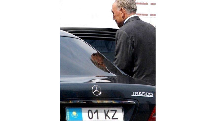 На чём возили первого президента Казахстана Нурсултана Назарбаева