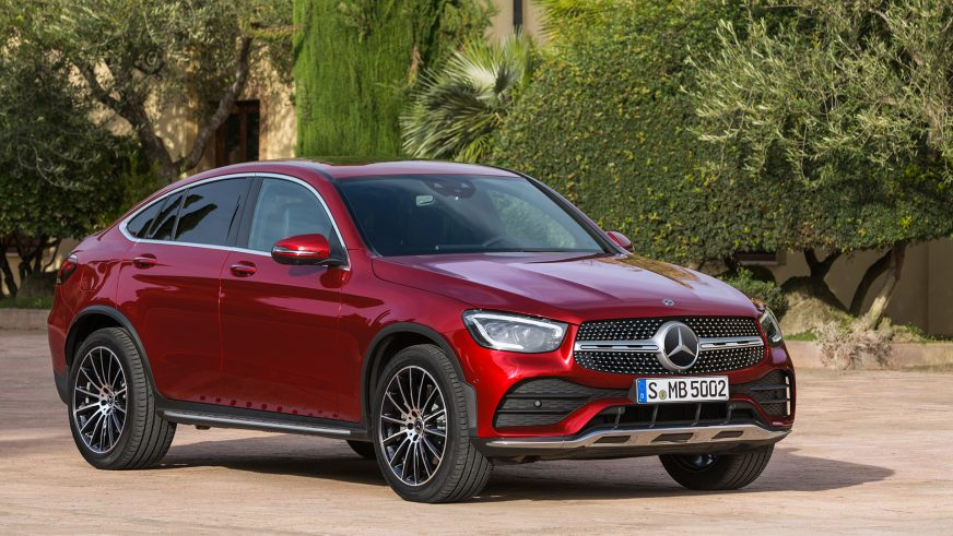 Mercedes-Benz GLC Coupe обновили