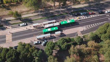 Остановки второй линии BRT разместят посередине проезжей части