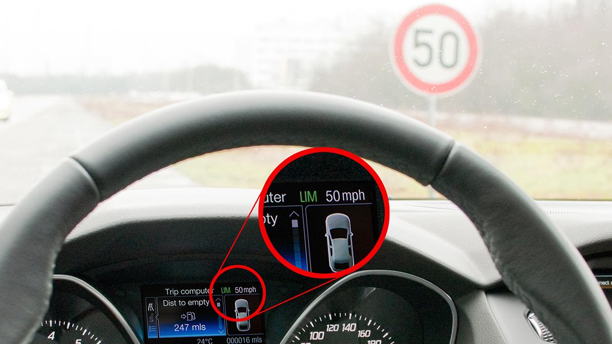 В Европе установят ограничители скорости на все новые авто