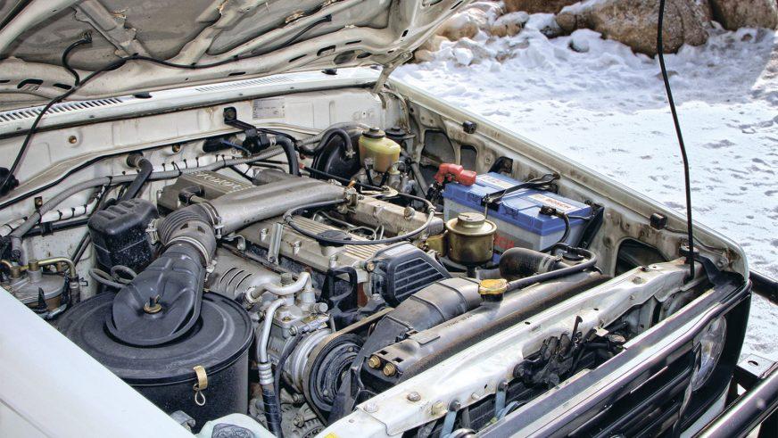 Toyota Land Cruiser 78 - 2003 - двигатель
