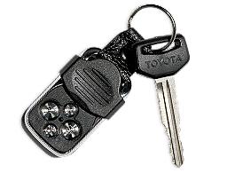 Toyota Land Cruiser 78 - 2003 - ключ