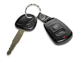 Hyundai Terracan - 2002 - ключ