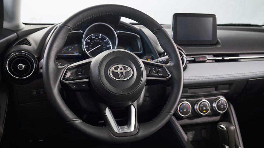 Новый Toyota Yaris представили в США