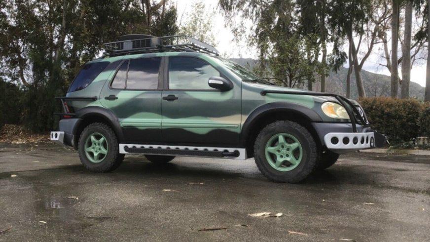 В продаже Mercedes-Benz ML из «Парка юрского периода»