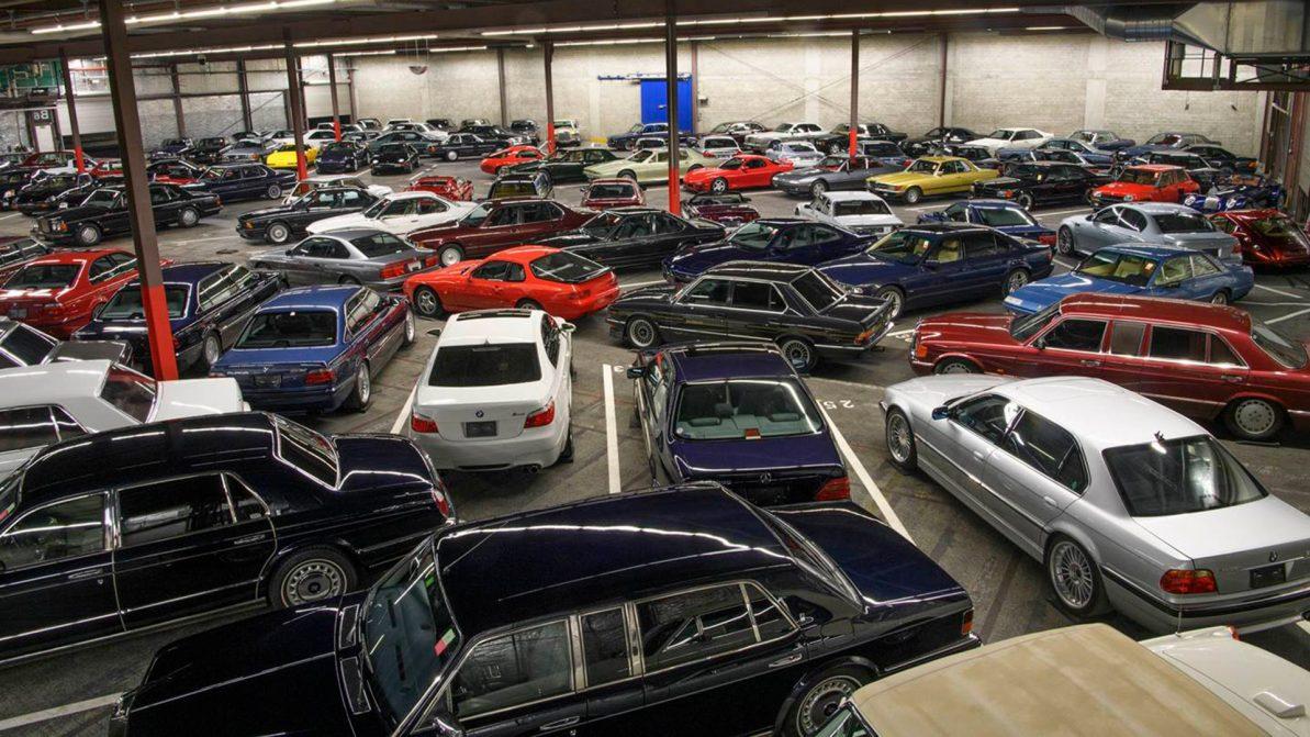 Коллекцию из 140 машин пустят с молотка