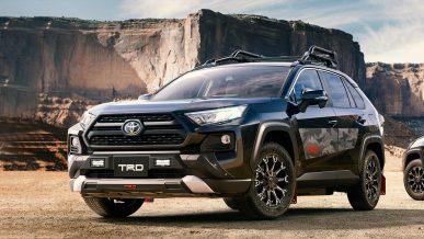 Новый Toyota RAV4 получил сразу две версии от TRD