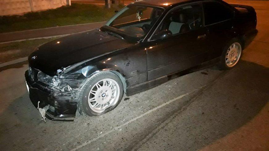 Две BMW столкнулись в Алматы