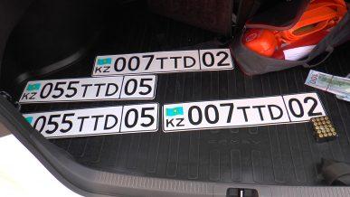 Toyota Camry с травматом в багажнике принадлежит сыну экс-акима Талдыкоргана