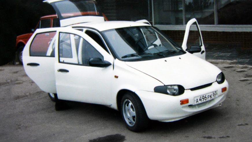 1996 год — построены первые прототипы ВАЗ-1119 в кузове хэтчбек
