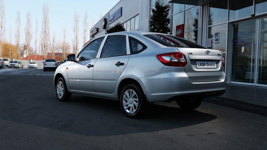 2014 год. Lada Granta Liftback (ВАЗ-2191)