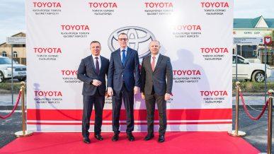 «Тойота» открыла первый сервисный центр в Кызылорде