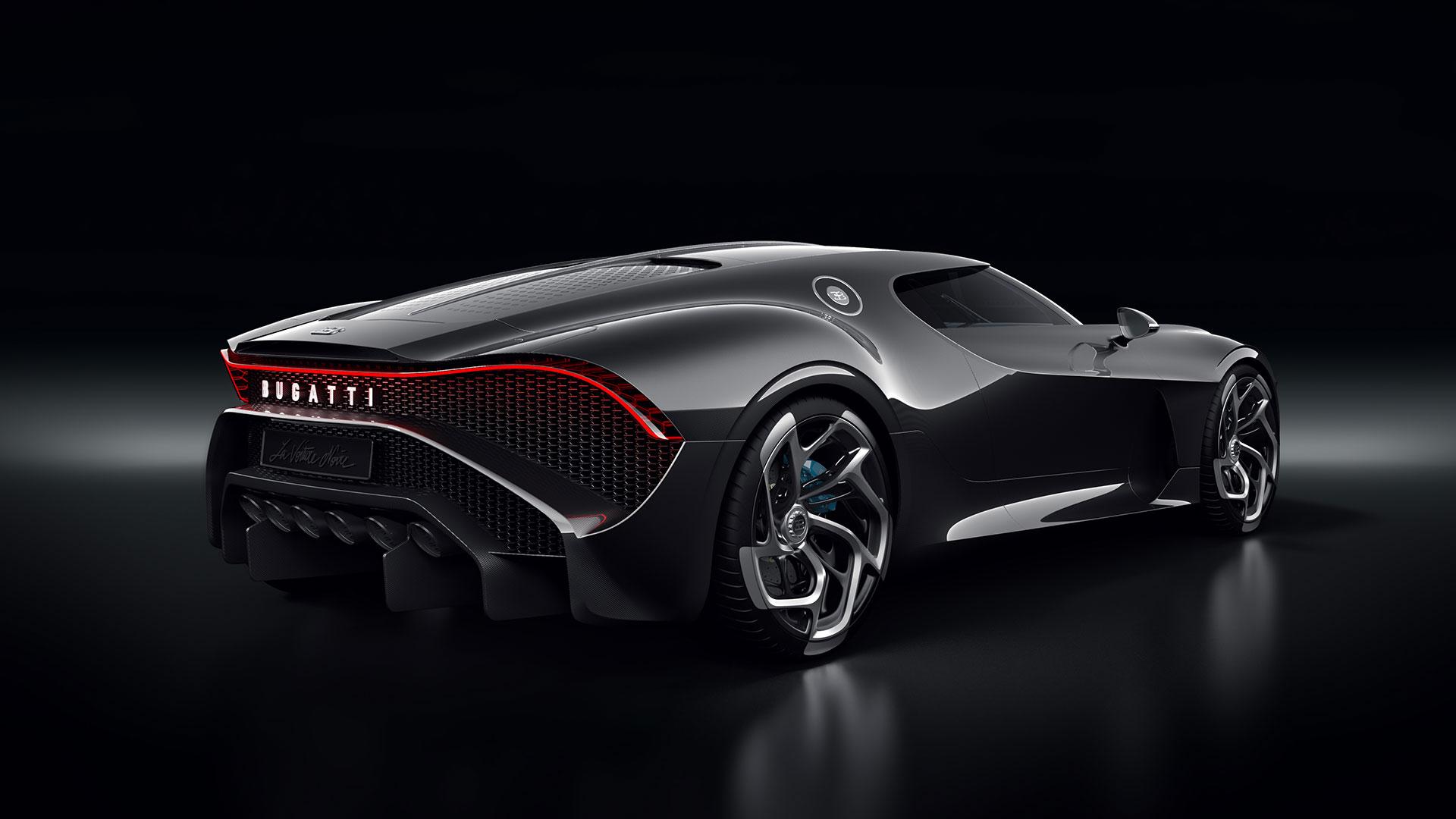 «Чёрная машина» Bugatti может принадлежать Криштиану Роналду