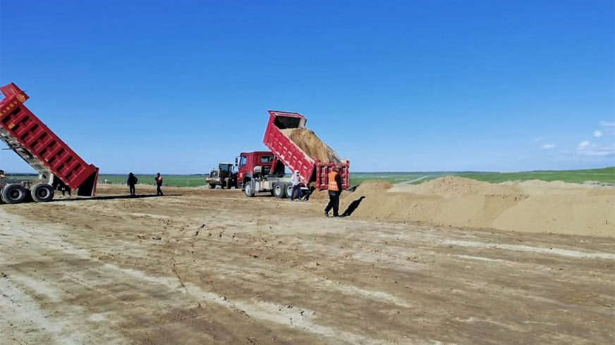 Привести в порядок дорогу Мерке – Бурылбайтал обещают к 2022 году