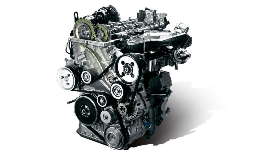 Kia Sorento - 2011 - двигатель