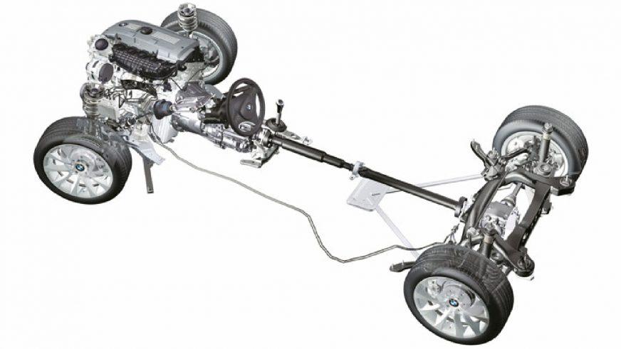 BMW 330xi - 2005 - трансмиссия