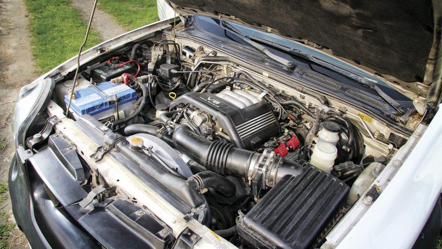 Isuzu Vehicross - 1999 - двигатель