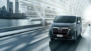 У Toyota появился новый роскошный минивэн