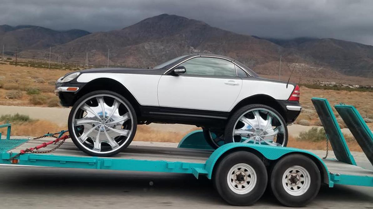 Mercedes-Benz SLK в стиле Donk