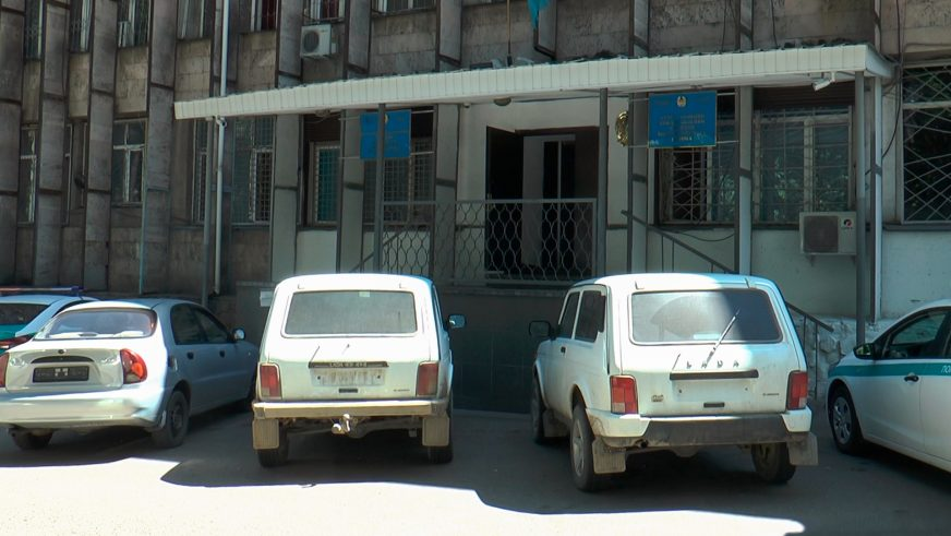 Угонщика «нив» задержали в Алматы