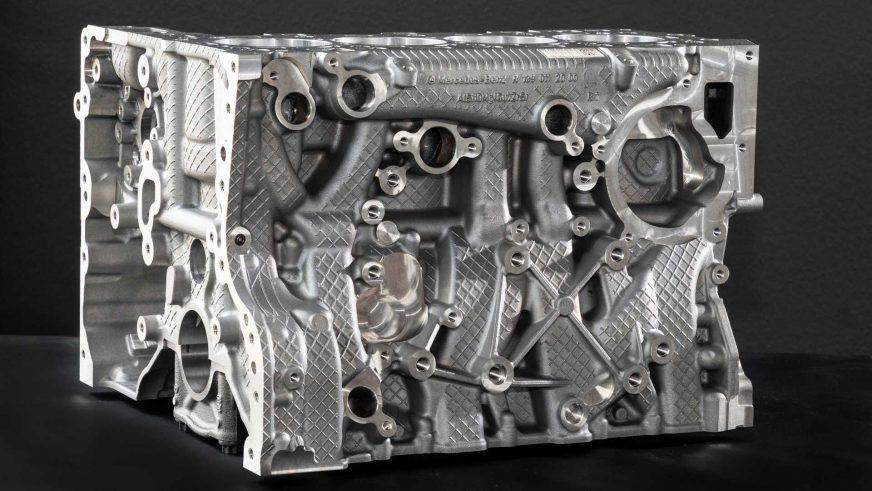 Mercedes-AMG выкатил 421-сильный 2-литровый мотор