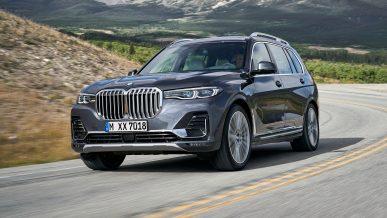 BMW отзывает X7 из-за подушек безопасности