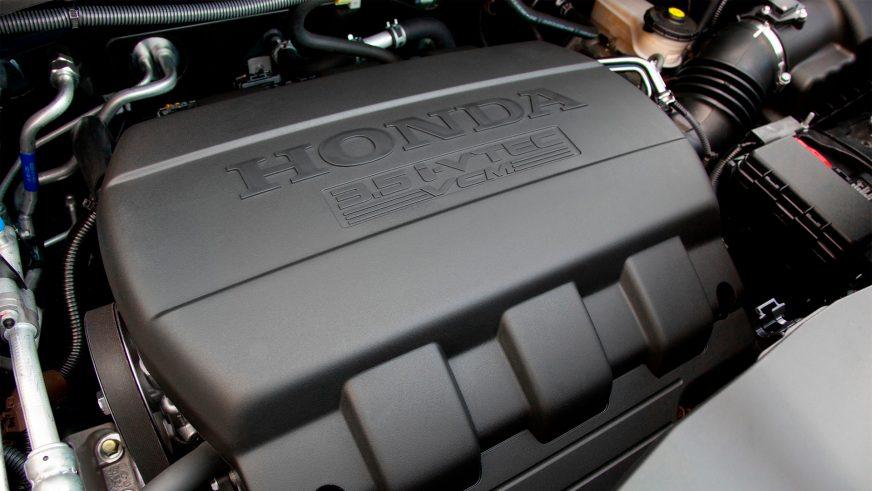 Honda Pilot - 2011 - двигатель