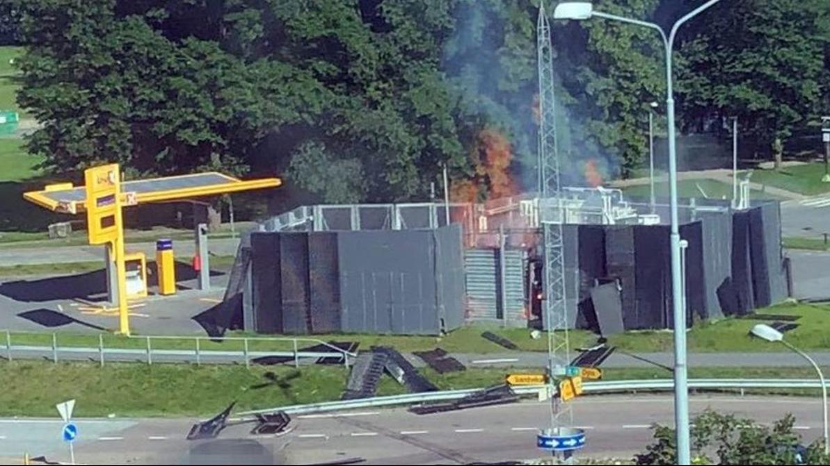 Водородная заправка взорвалась в Норвегии