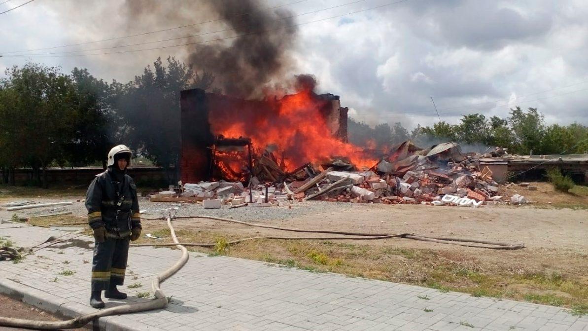 Станция по установке ГБО взорвалась в Костанае