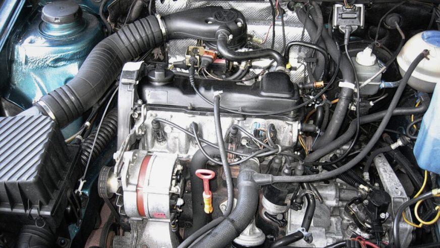 Volkswagen Passat - 1990 - двигатель
