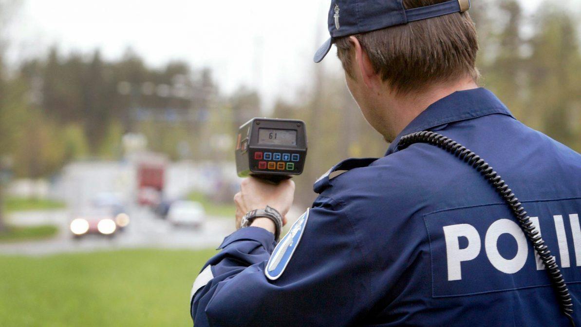 В Финляндии будут штрафовать даже за превышение на 1 км/ч