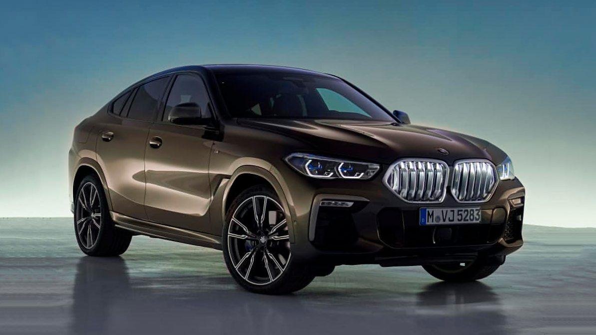 Первые фото нового BMW X6