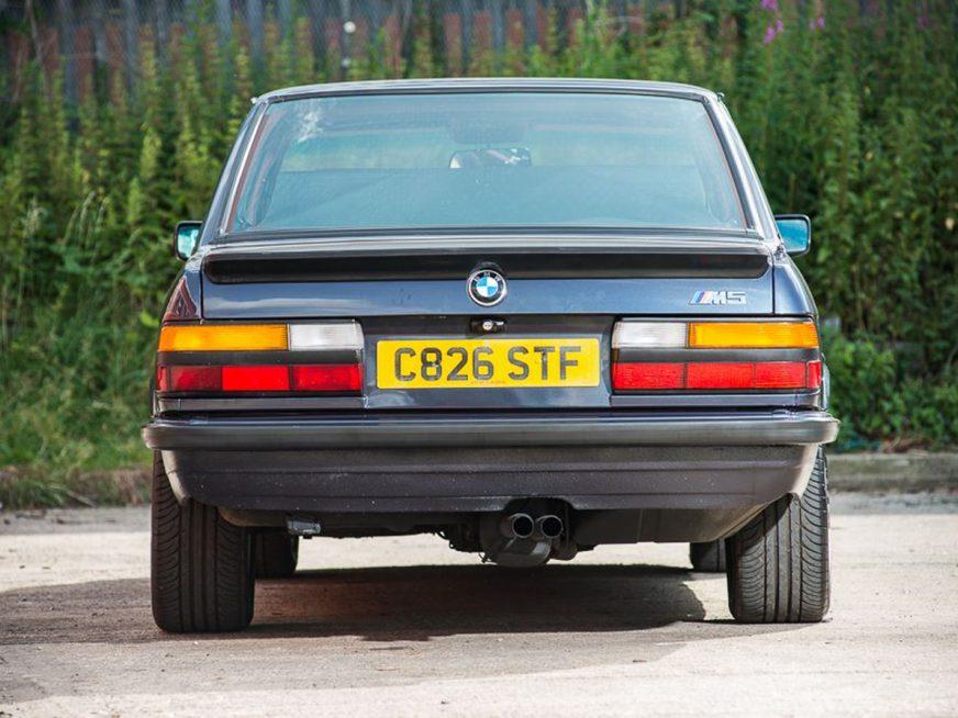 Уникальную BMW M5 пустят с молотка