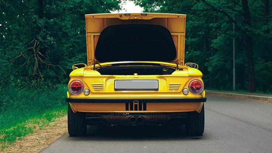 Гибрид «запорожца» и Porsche выставлен на продажу