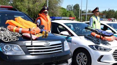 Алматинская полиция получила новые «игрушки»
