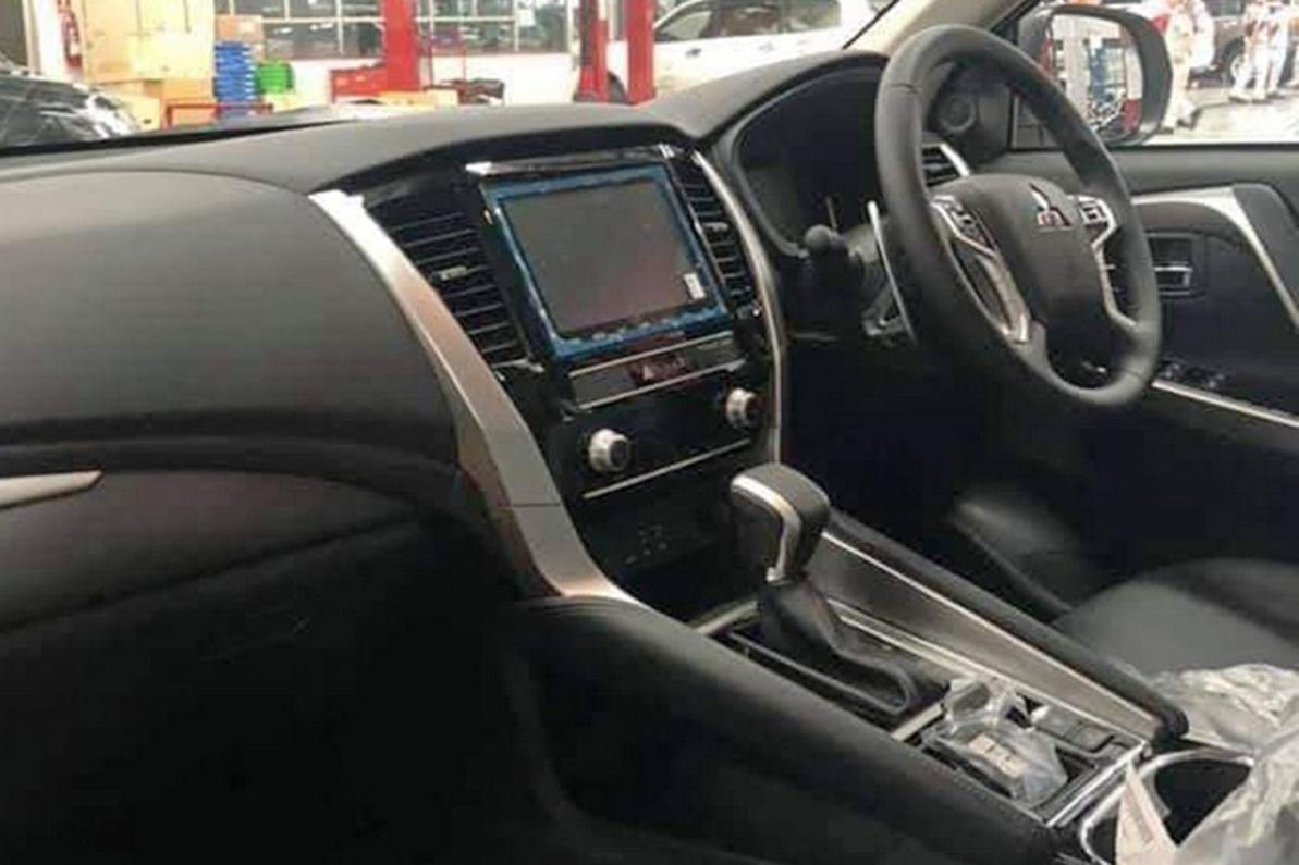 Опубликованы фото обновлённого Mitsubishi Pajero Sport