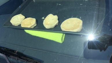 Можно ли испечь печенье под лобовым стеклом