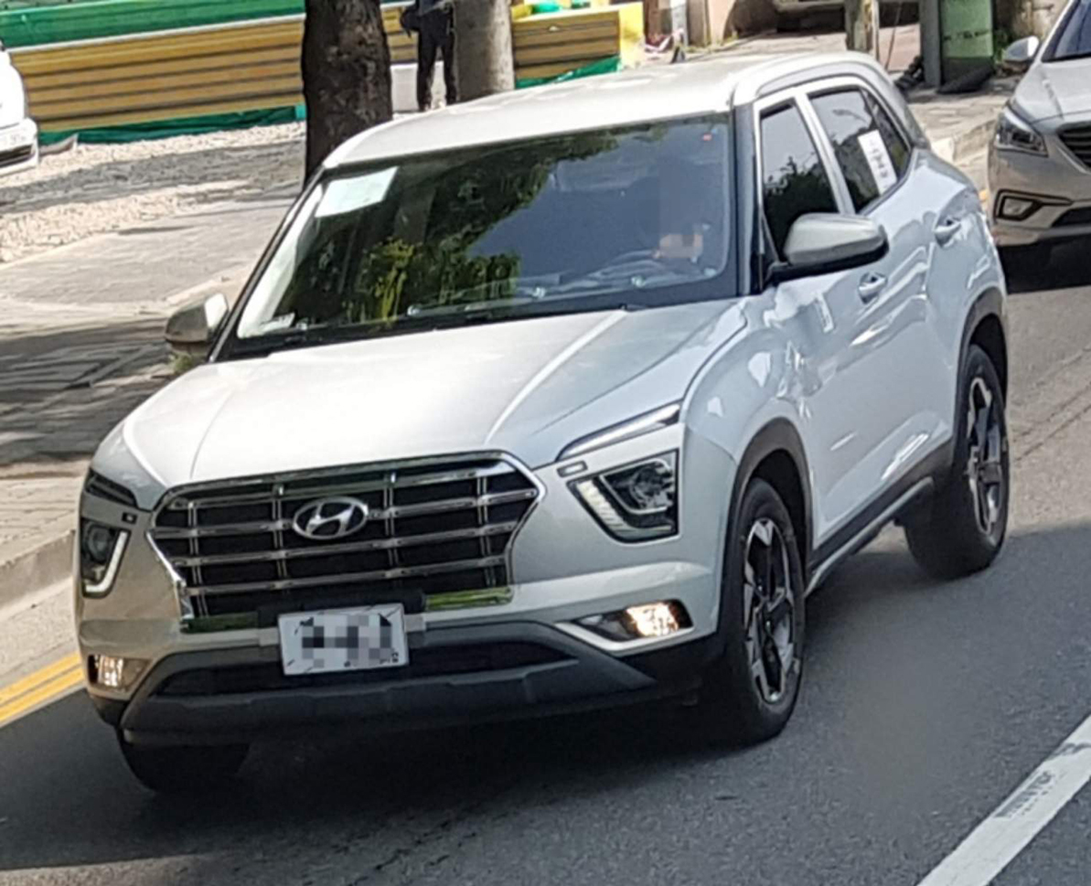 Новая Hyundai Creta сфотографирована без маскировки