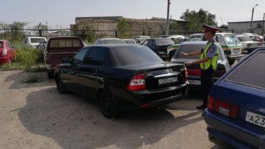 Почти 800 тысяч тенге штрафов насобирал водитель Lada Priora