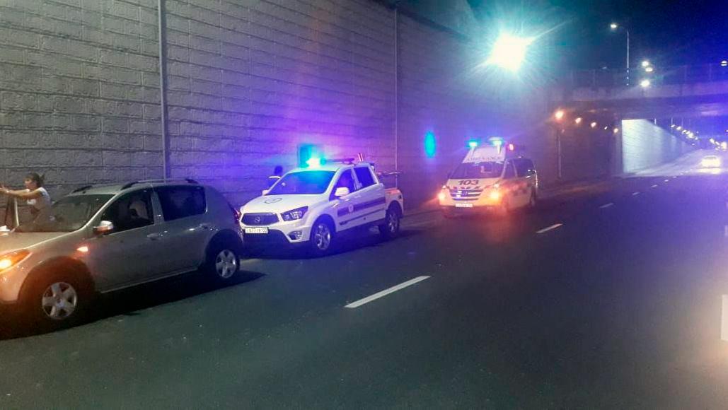 Toyota Camry протаранила КамАЗ в Алматы