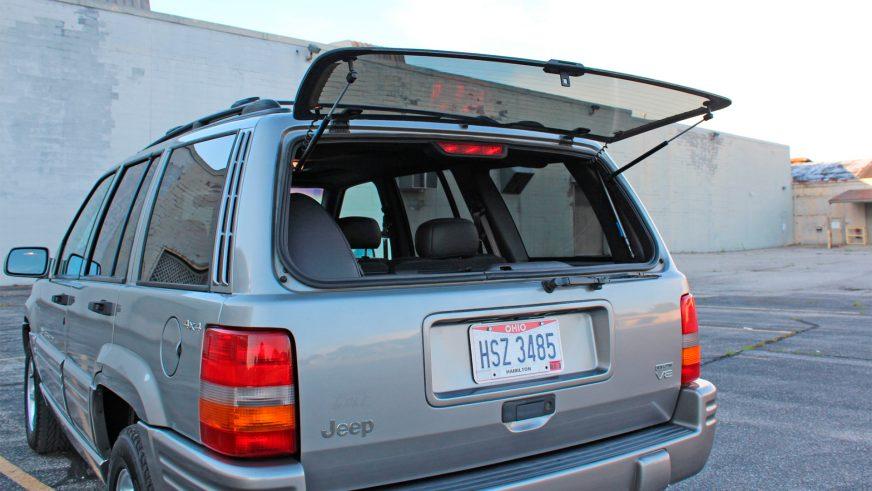 Jeep Grand Cherokee с мизерным пробегом пустят с молотка