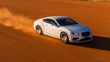 В Актюбинской области бросили Bentley на границе